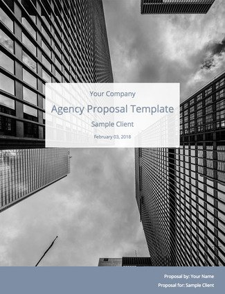 Full Service Digital Agency Proposal Template Free Download