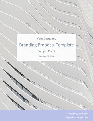 Branding Proposal Template  Bidsketch
