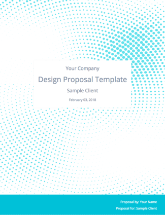 Get The Free Graphic Design Proposal Template And Bonus