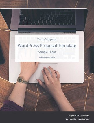 Wordpress Website Proposal Template By Wpelevation Bidsketch